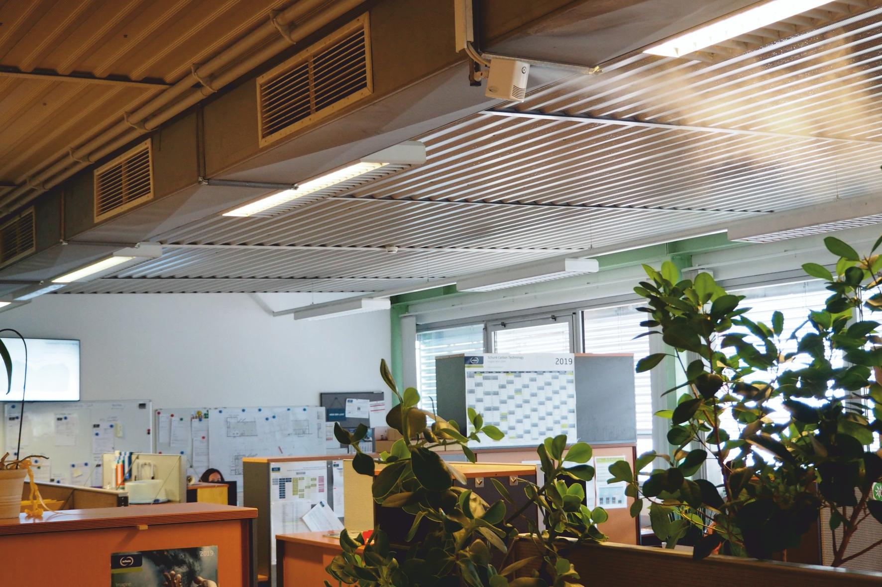 NanoFog Luftbefeuchtung im Büro