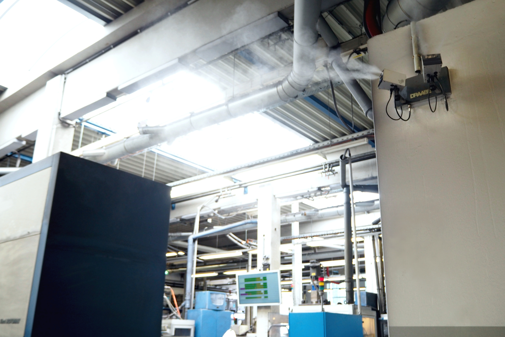DRAABE NanoFog Sens Luftbefeuchter