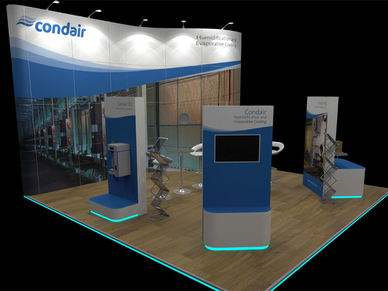Data Centre World Condair stand