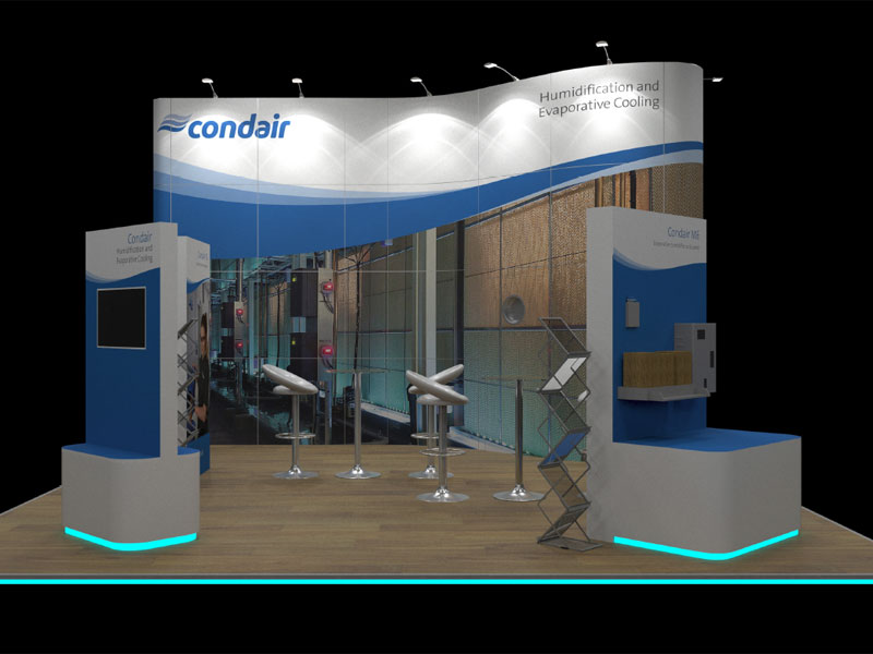 Condair's Data Centre World exhibition stand