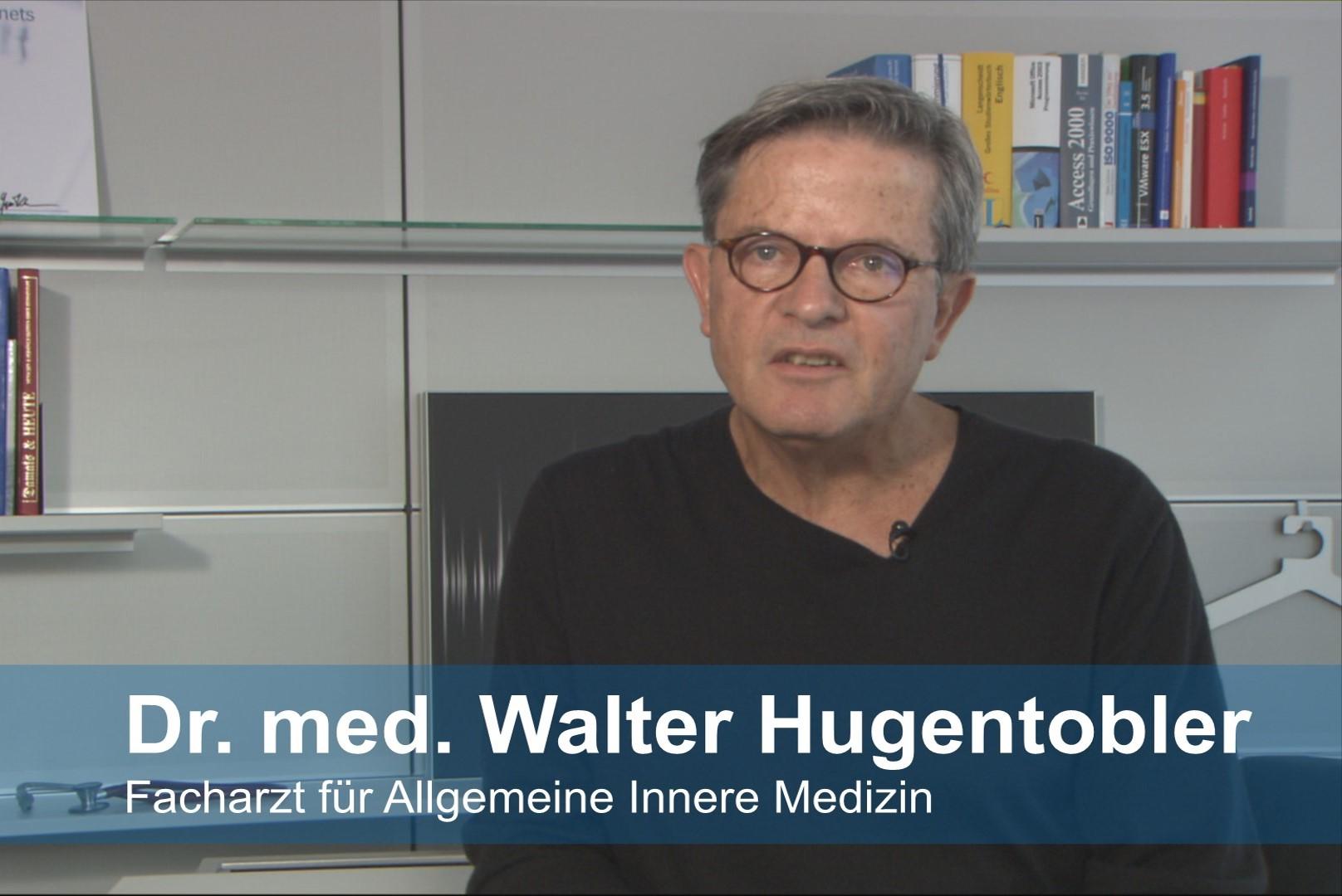 Dr. Hugentobler erklärt Virenverbreitung
