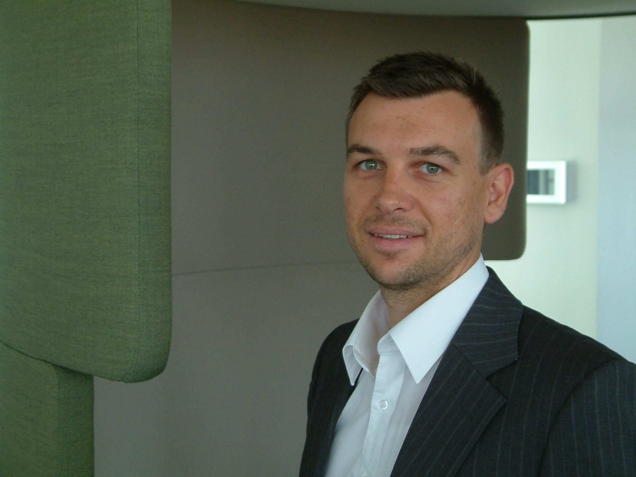 Mitja Jurecic, Projektleiter beim Fraunhofer IAO
