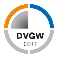DVGW certified