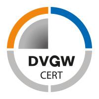 Certifikováno DVGW