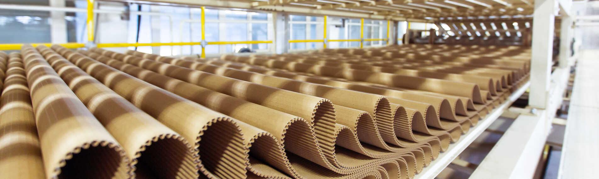 Emballageproduktion slipper väsentliga skador med rätt luftfuktighet
