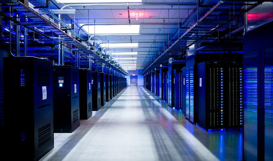Befugtning og køling til datacenter