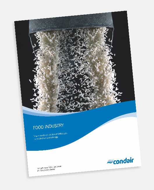 Brochure of Dehumidification for Food Processing