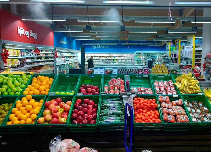 Befugtning forlænger holdbarheden på frugt og grønt