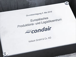 Groundbreaking Condair Hamburg