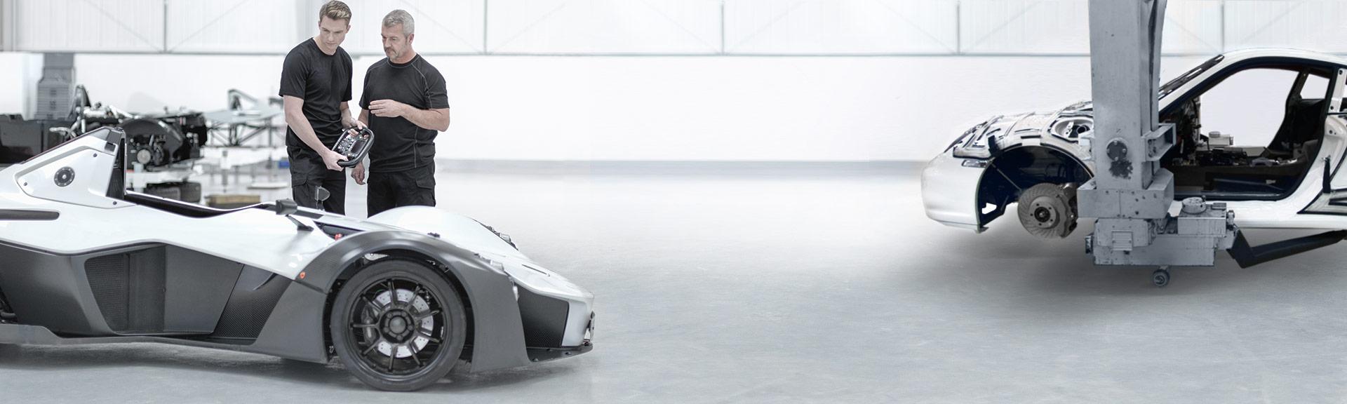 Lösungen für die Automobilindustrie