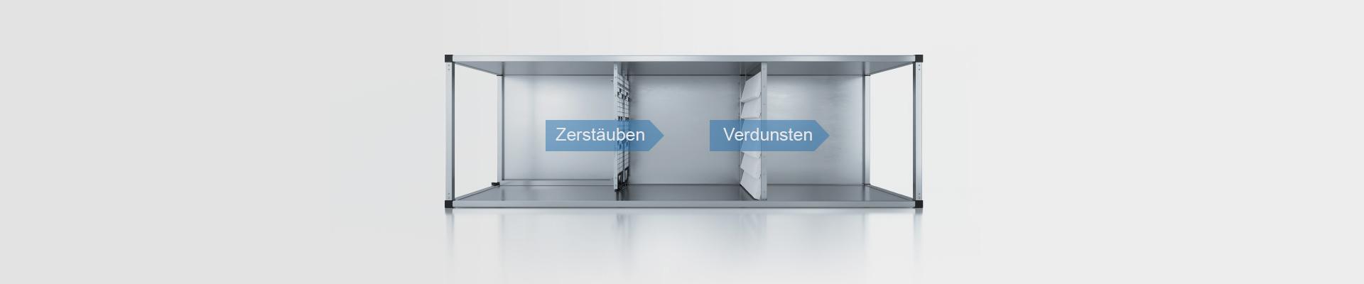 Hybrid-Luftbefeuchter