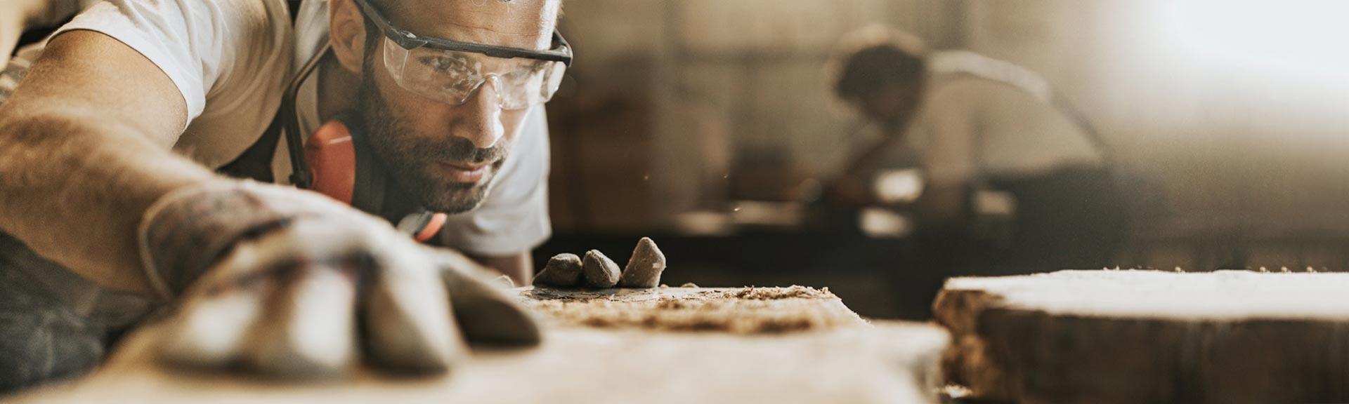 Vlaženje zraka v lesni industriji in pri proizvodnji pohištva