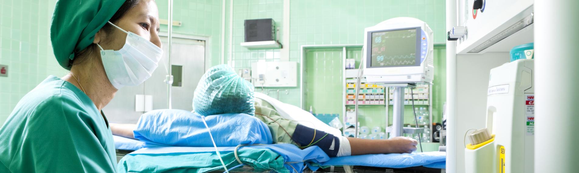 Vårdrelaterade infektioner kan minskas med rätt fuktighet