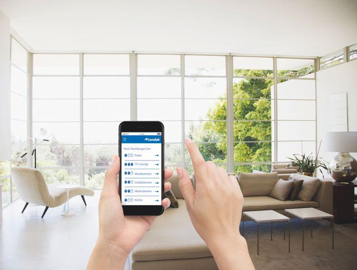 Smart home integration in Eigenheim