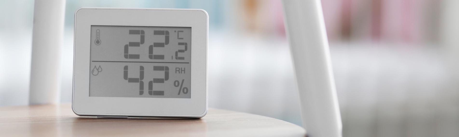Luftfugtigheden indendørs