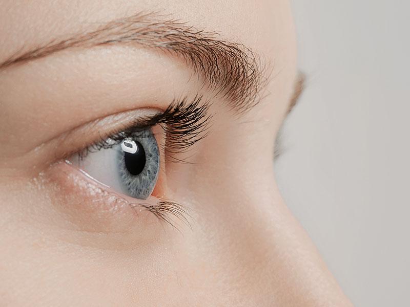 Trockene Augen, trockene Haut