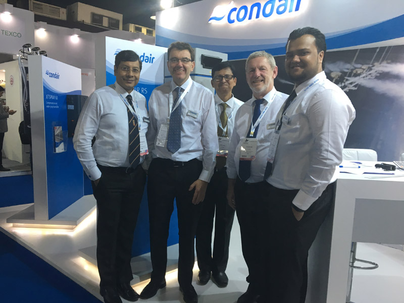 Condair team at ITME