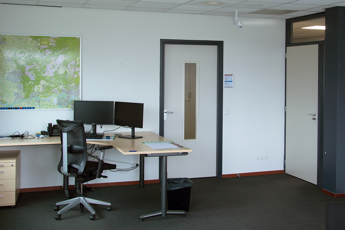 Condair NanoFog in de kantoren