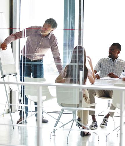 Sundt indeklima på kontorer med korrekt luftfugtighed