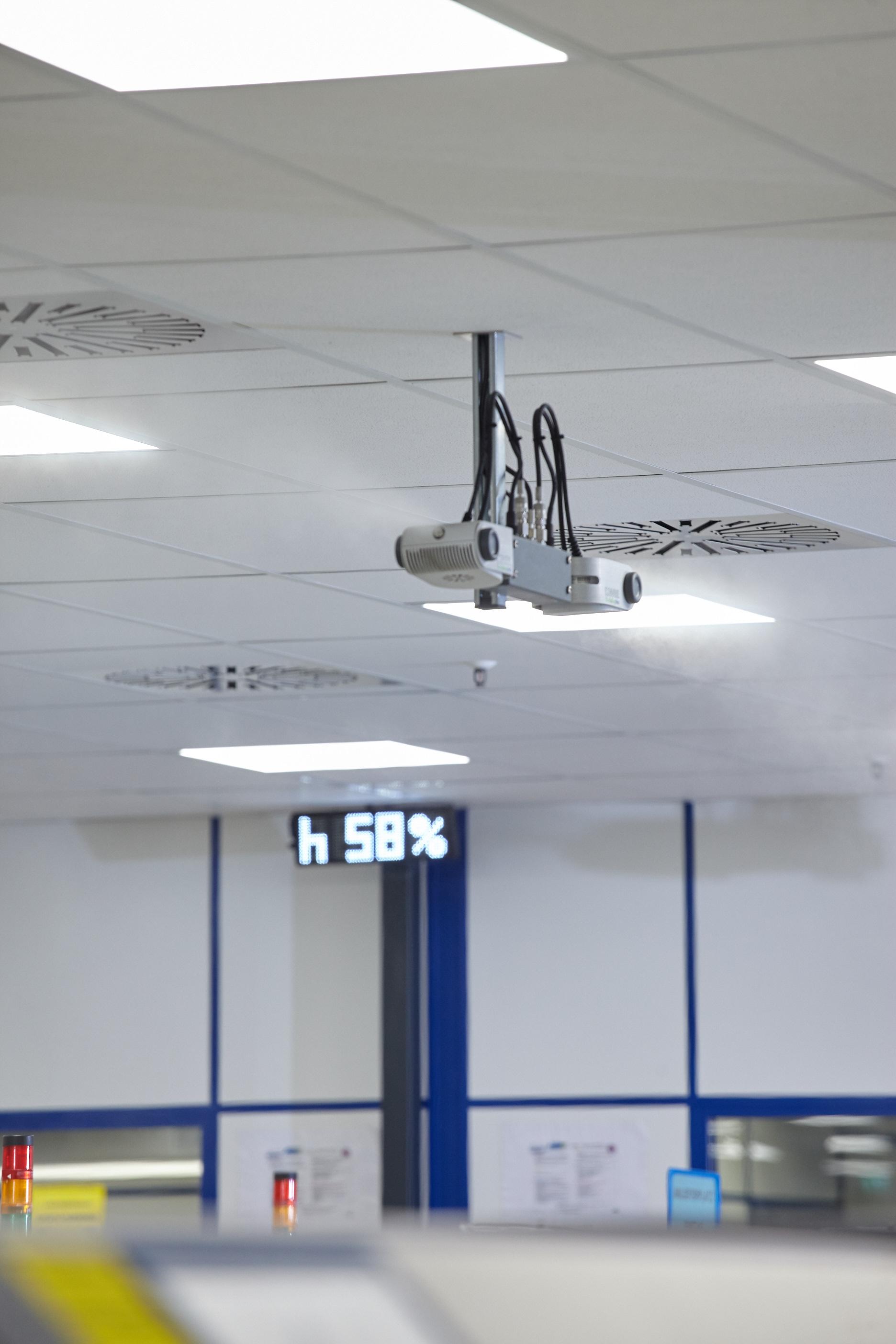 Az optimális levegő páratartalom szabályozása