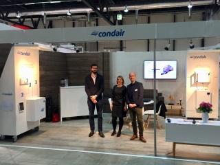 Condair Stand an der Bauen & Wohnen, Luzern
