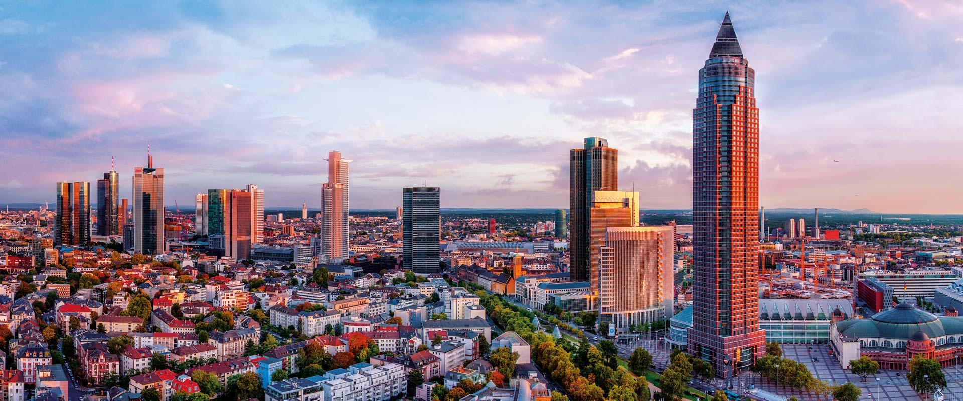 Veletržní věž Frankfurt