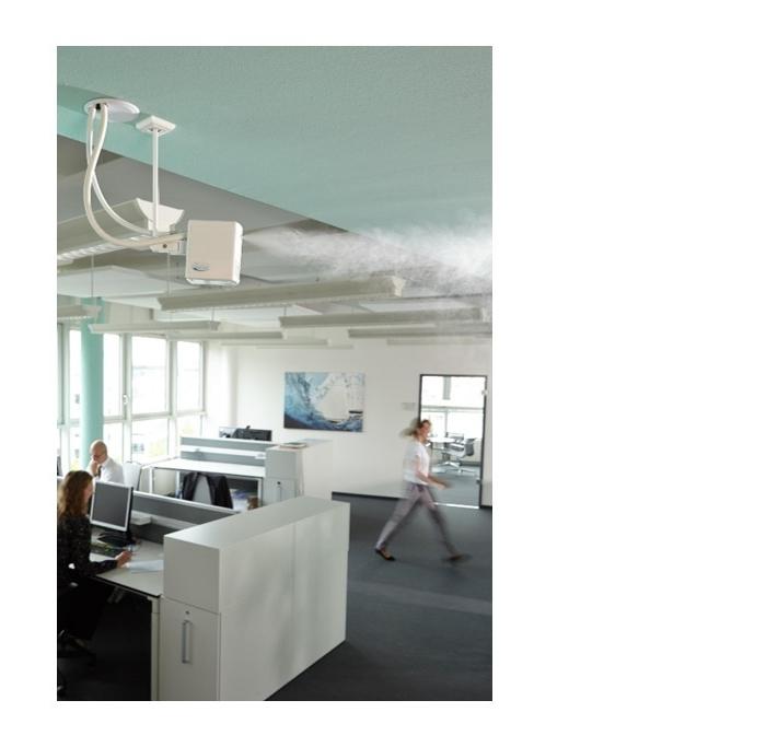 Hochdruck-Luftbefeuchtung im Büro