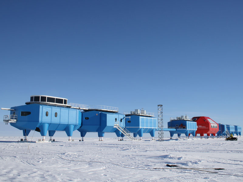 Condair MK5 humidifiers in Antarctica