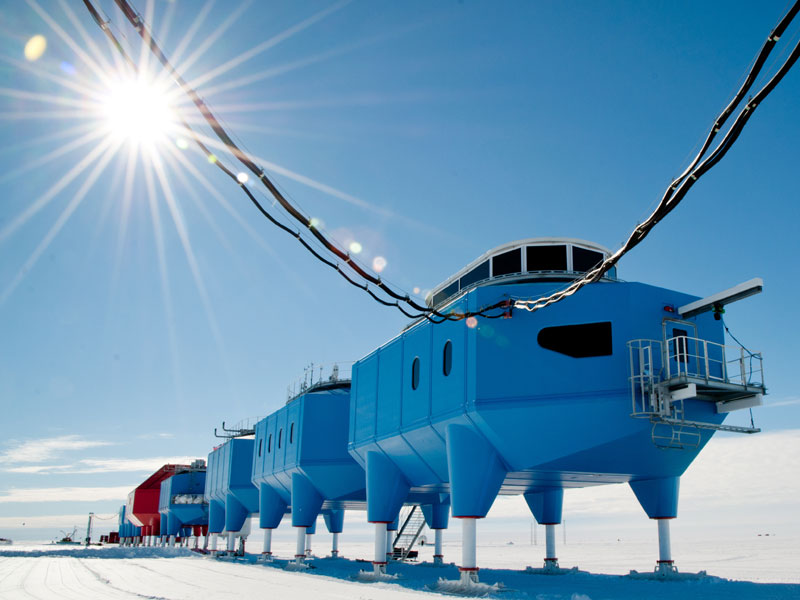 Condair Humidifiers in Halley VI research station