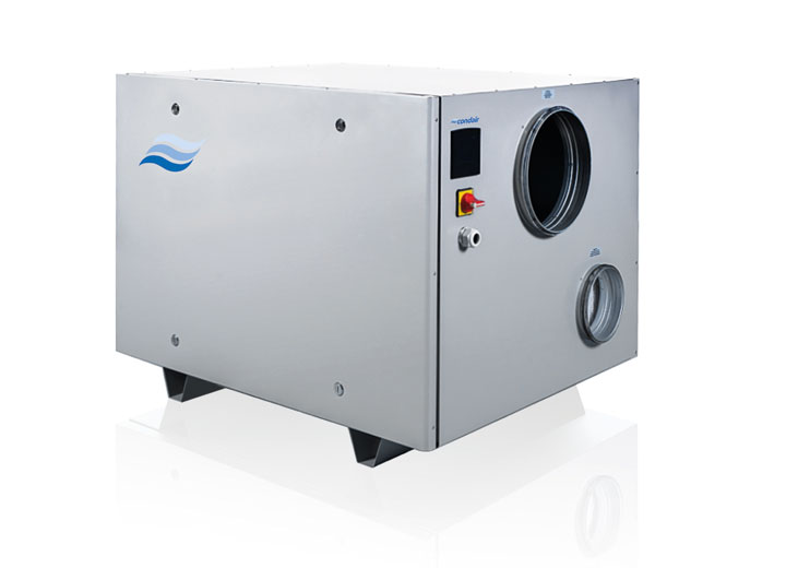 New Condair DA desiccant dehumidifier range