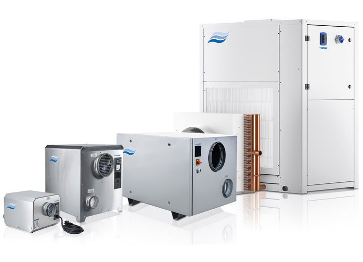 Condair extends dehumidifier range