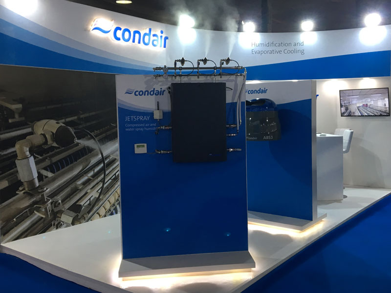 Condair will be on stand F16, Hall B
