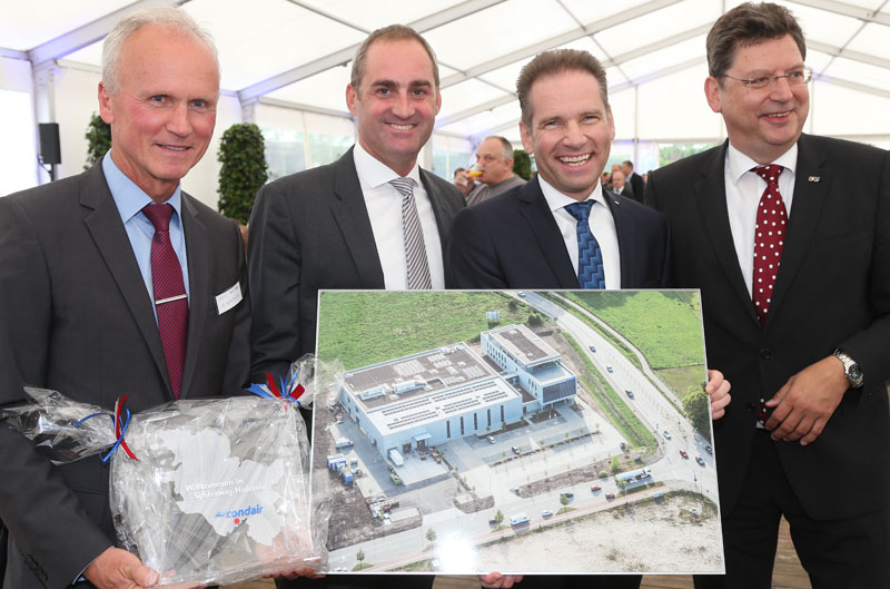 Condair Opening in Norderstedt