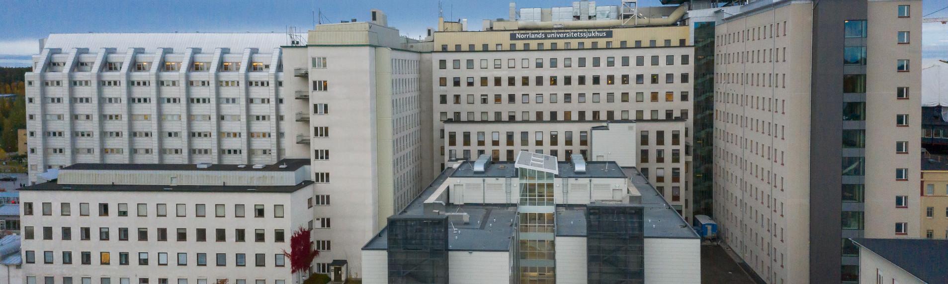 Kontrollerad klimatkontroll för Norrlands sjukhus