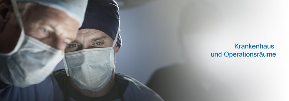 Luftbefeuchtung für Krankenhaus und Operationsräume