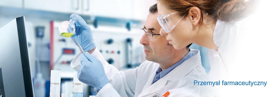 Przemyśle farmaceutycznym