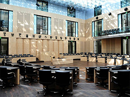 The plenary chamber in the Bundesrat