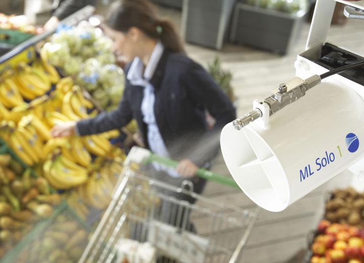 Befugtning i frugt og grønt afdelinger mindsker vægttab med op til 30%