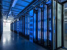 Računalniški center podjetja Facebook v mestu Luleå na Švedskem