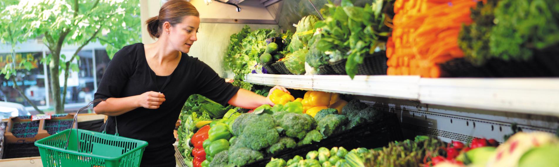 Upp till 30% lägre viktminskning för frukt och grönsaker