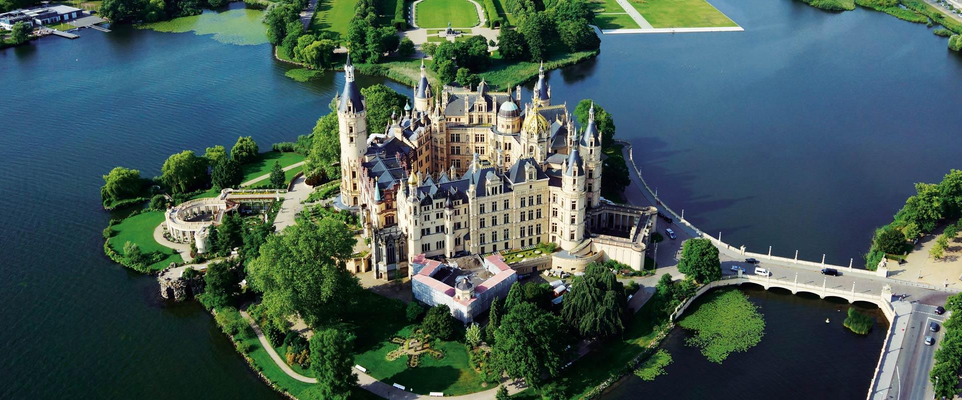 Schwerin Palace in Schwerin