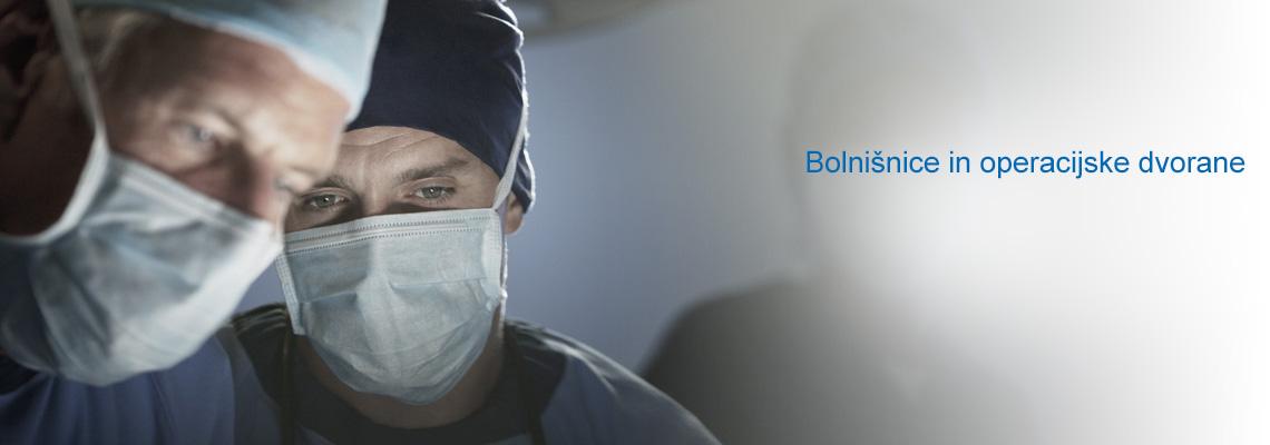 Bolnišnice in operacijske dvorane
