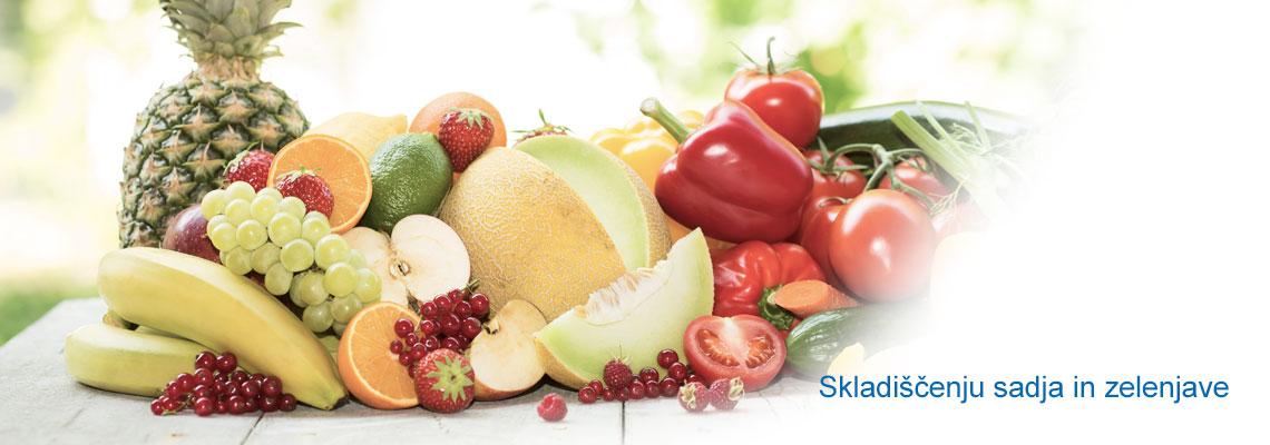 Skladiščenju sadja in zelenjave