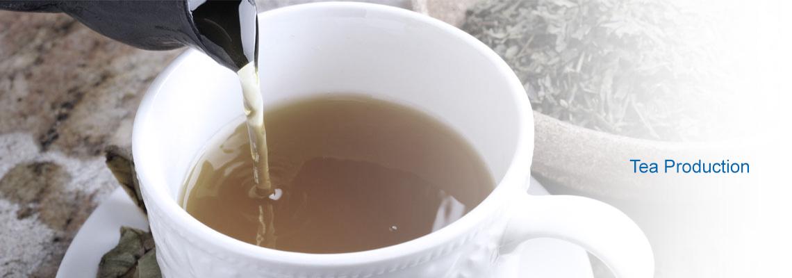 Humidification for Tea production