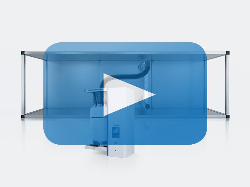 Erklärvideo Elektroden-Dampf-Luftbefeuchter