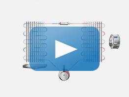 Video, Animation Kondensations-Luftentfeuchter