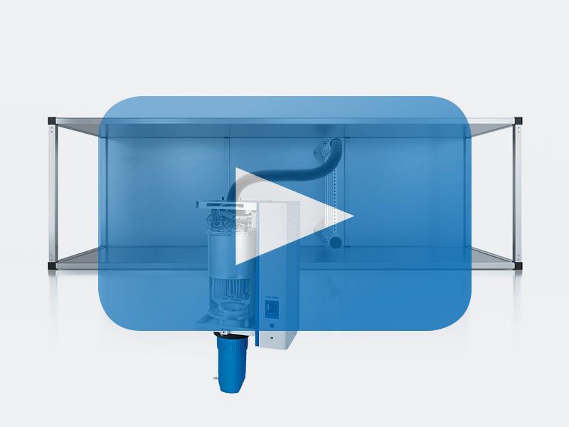 Erklärvideo Widerstands-Dampf-Luftbefeuchter